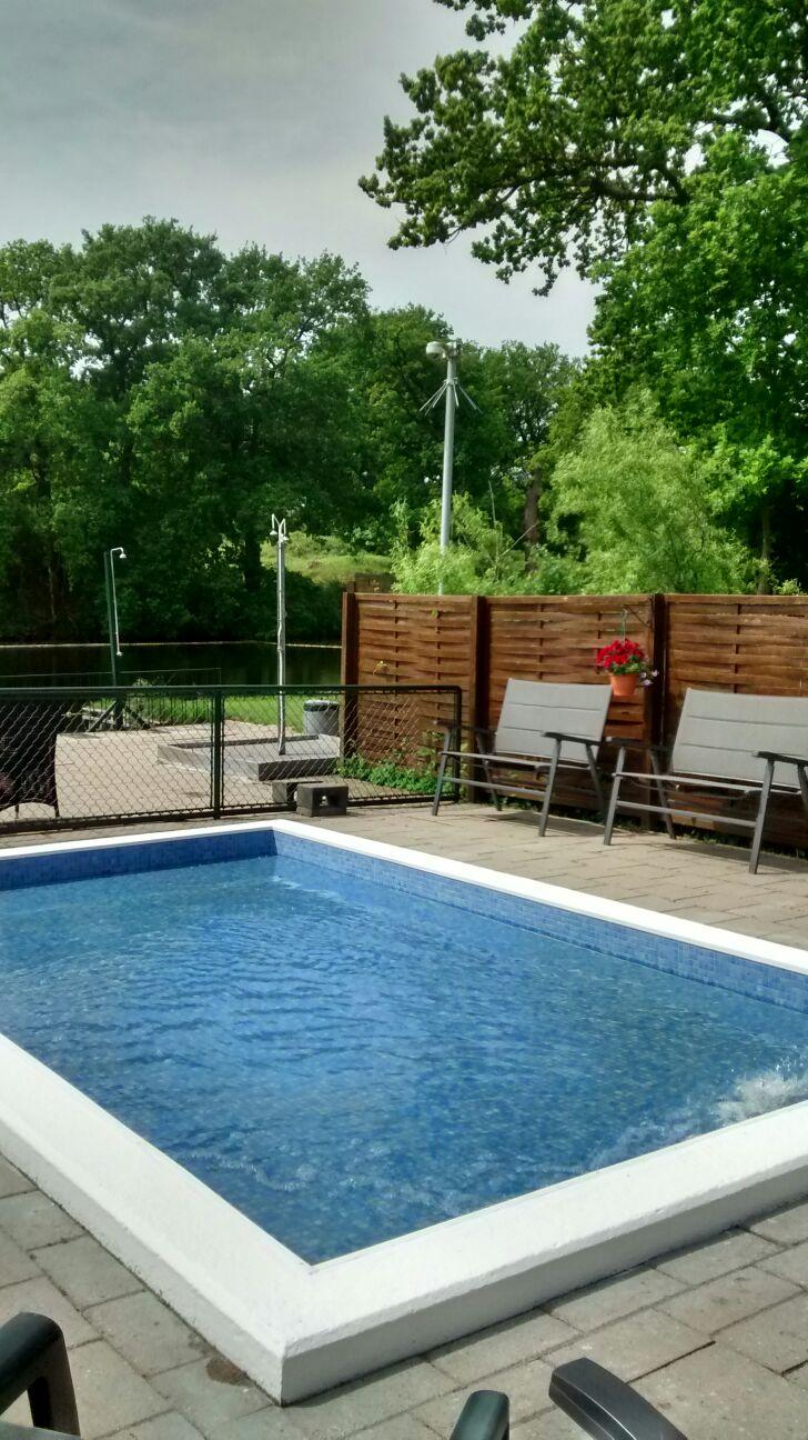 Foto 39 s zwembad de kikker - Omgeving zwembad ontwerp ...